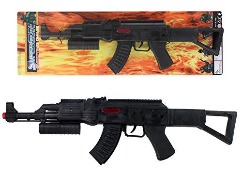 GYD AK Rattergewehr Spielzeuggewehr Spielzeug Gewehr mit Ratter-Sound (Spielzeug Gewehr Black Ops)