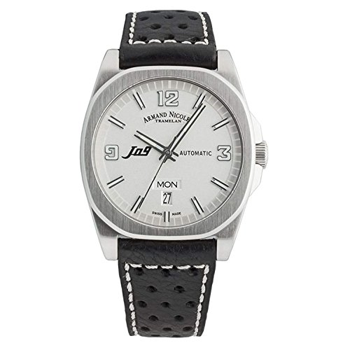 Armand Nicolet J09 Homme 39mm Automatique Montre 9650A-AG-P660NR2