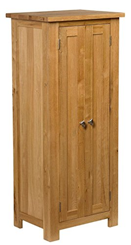 waverly-oak-2-door-narrow-storage-cabinet-with-adjustable-shelving-in-light-oak-finish-solid-wooden-