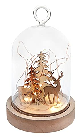 Weihnachts-Deko Glas-Glocke