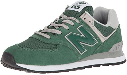 New Balance Herren ML574EGN Sneaker, Grün (Forest Green)), 41.5 EU