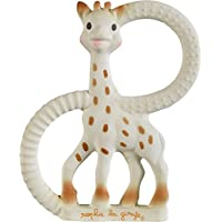 Sophie The Giraffe So Pure Teething Ring Very Soft Version (White) - ukpricecomparsion.eu
