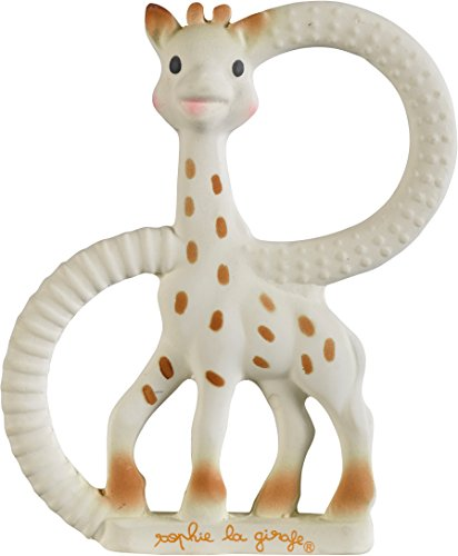 Sophie The Giraffe So Pure Teething Ring Very Soft Version (White) 41UCWuIvEYL