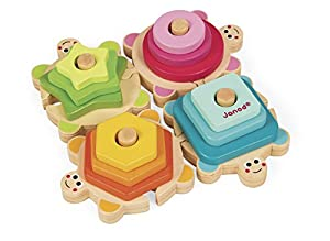Janod - Tortugas apilables I Wood (J05337)