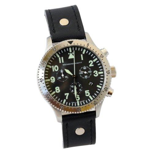 Aristo Herren Messerschmitt Uhr Chronograph Fliegeruhr ME 5030L