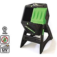 Compostador autogiratorio de 70 litros Fácil de ensamblar Plástico muy resistente y con protección UV adecuado
