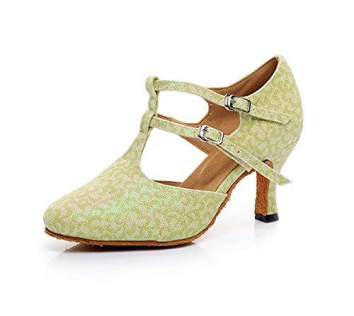 Minitoo - Ballroom donna Light Green-7.5cm Heel