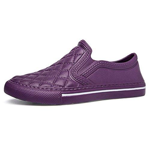 Espadrilles Herren Damen Leicht Sneakers Mokassins Flache Schuhe Schwarz Weiß Rot 36-45 Violett