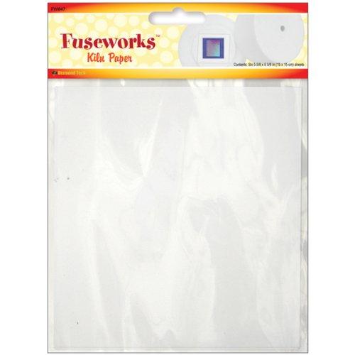 diamond-tech-crafts-fuseworks-kiln-paper-5625-inch-x-5625-inch-4-pkg