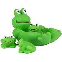 Juguetes de baño,Morbuy One Big Three Small Juguetes de Baño para Bebés Natación del