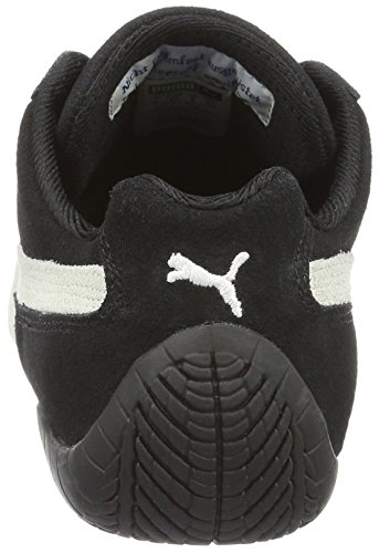 Puma  Speed Cat,Unisex-Erwachsene Sneakers ,Low-Top Schwarz (black-white 03)