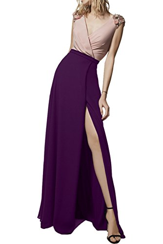 Promgirl House - Robe - Crayon - Femme Violet