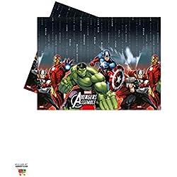 Avengers Mantel de plástico para fiestas y cumpleaños (Procos 6884602)