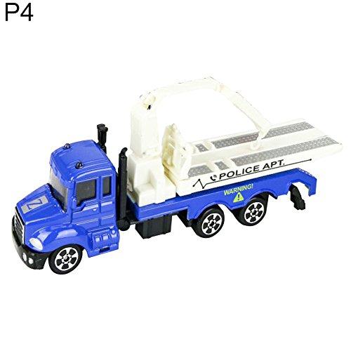 Geschenke Engineering Lustig (yeshi Funny Toys Legierung Engineering Auto Truck Bagger Modell Kinder Kinder Geburtstag Geschenke (P4))