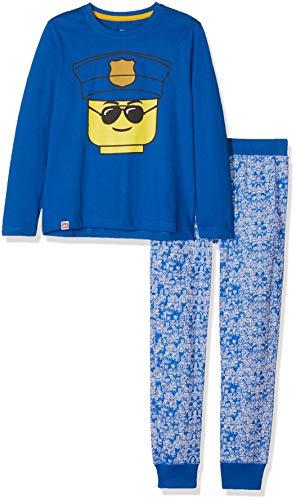 LEGO Jungen Boy CM-73111 Pyjama Zweiteiliger Schlafanzug, Blau (Blue 569), 104