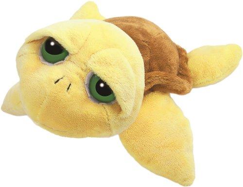 Preisvergleich Produktbild Li'l Peepers 14002 - Original Suki Plüschtier Schildkröte Pebbles, 38.1 cm, gelb