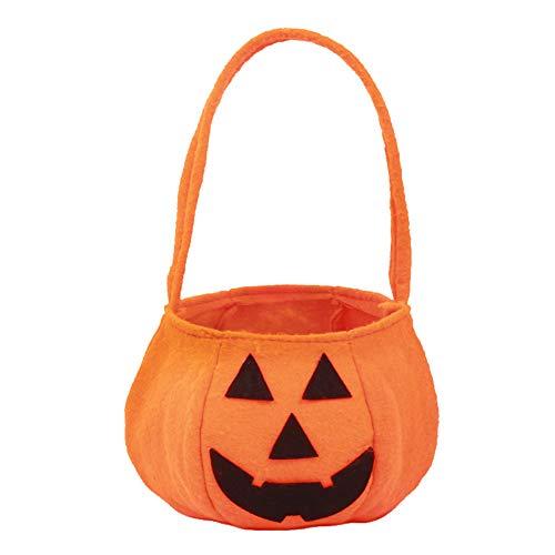 SJZC Halloween Süßigkeiten Taschen Vliesstoff Kinder Candy Bag Kürbis Tasche Für Party