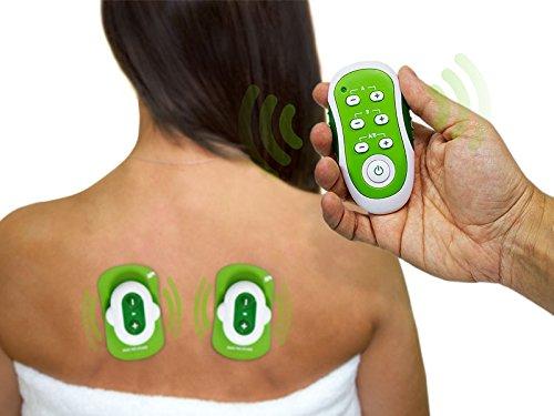 Reizstromgerät TENS Therapie Wireless Kabellos für Schmerzlinderung Geschlecht von Ärzte und Physiotherapeuten