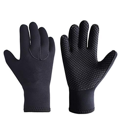 Jet Pack Kinder Kostüm - FiedFikt Tauchhandschuhe 3 mm Premium Neoprenanzug Handschuhe für alle Wassersportarten, Tauchen, Bootfahren, Reinigung von Dachrinnen, Teich- und Aquarienpflege, blau, Large