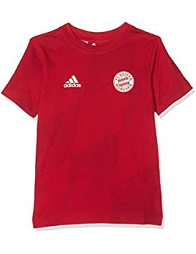 adidas Jungen Yb Bm Tee Shirt, Bunt