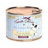 Terra Canis | Welpe Rind mit Apfel, Karotte und Hagebutte | 12 x 200 g