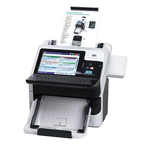HP ScanJet Enterprise 7000nx Dokumenten Scanner (40 S/min, 250GB Security HDD, ADF, Duplex, Touch-Display, LAN + USB)