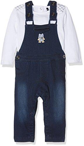 Boys Navy Blue Suit (3 Pommes Baby-Jungen Bekleidungsset Mini Cargo, Blau (Marineblau), 80)