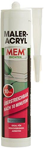 MEM Maler-Acry l 310 ml, transparent, MEM-500602