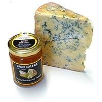 Blue Stilton Cheese Blauschimmelkäse 400g und Birnensenfsauce 180g