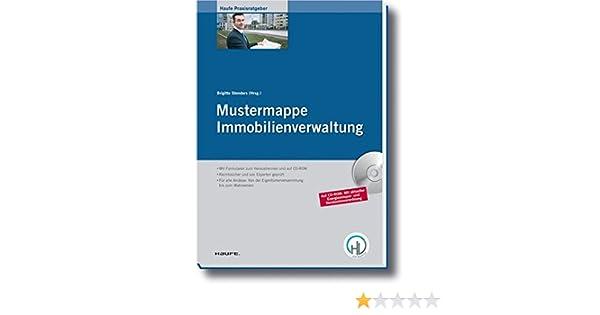 Mustermappe Immobilienverwaltung Haufe Praxisratgeber