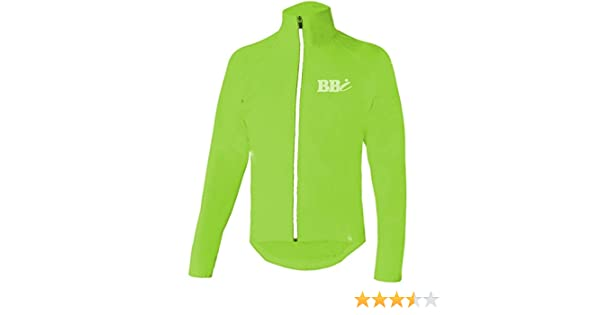 Mens Cycling Rain Jacket Waterproof High Visibility Running Top Rain Cover  HiViz (XX-Large)  Amazon.co.uk  Clothing 55a25452f