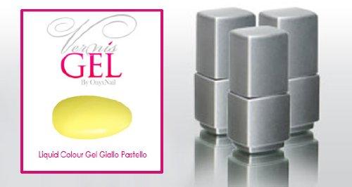 Smalto Semipermanente VernisGel Giallo Pastello / Liquid Colour Gel Pastel Yellow