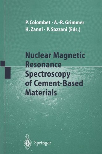 NUCLEAR MAGNETIC RESONANCE SPECTROSCOPY OF CEMENT-BASED MATERIALS