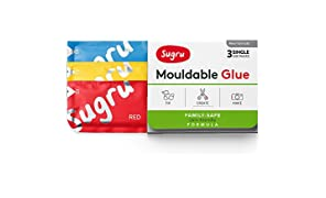 Tesa Sugru Malleable All-Purpose Glue Family Formula - Very Skin-Friendly - Maximum Load 2 kg, 41032