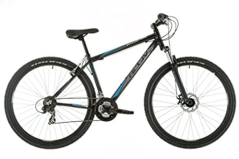 Raleigh Pitch Stone Mens' Mountain Bike Black, 18