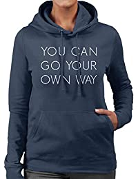 Fleetwood Mac Go Your Own Way Lyrics Womens Hooded Sweatshirt