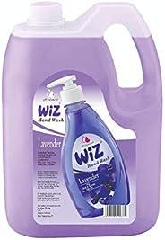 wiz LIQUID SOAP pH-Balanced Hand Care Lavender Liquid Handwash Refill Can -5 L