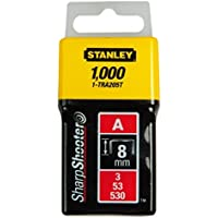 Stanley Grapas Tipo A 8 mm-1000 Unidades, 1-TRA205T