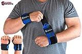 Cleso Sports Handgelenk Bandagen [Wrist Wraps] Handgelenkbandage Kraftsport, Crossfit, Bodybuilding...