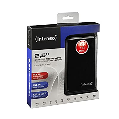 Intenso Memory Case USB 3.0 2.5 Inch External Hard Drive