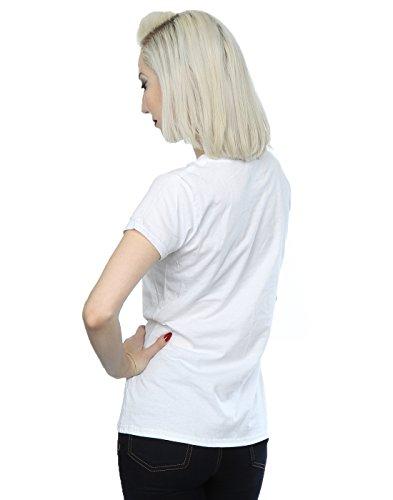 Justin Bieber Femme Flannel Photo T-Shirt Blanc