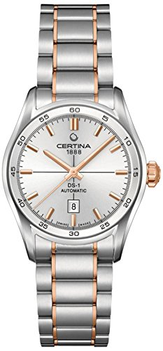 Certina Ladies Wristwatch Stainless Steel Automatic Analog XS C006 207.22.031.00.