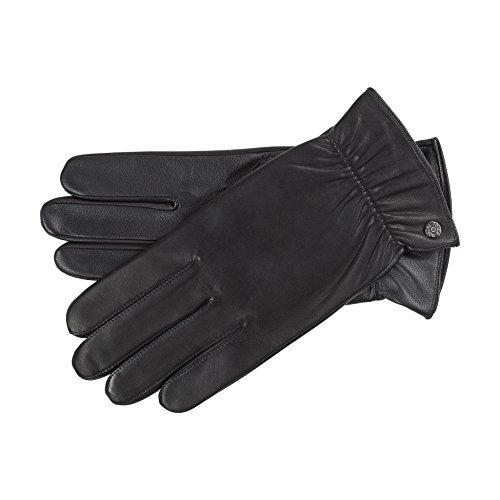 Roeckl Damen Handschuhe 13013-620, Schwarz (Black 000), 8.5 (Herstellergröße: 8,5)