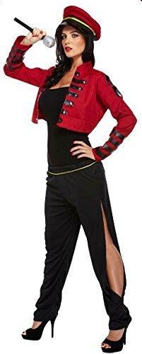 LADIES POP STAR SINGER JUDGE CHERYL COLE FANCY DRESS COSTUME CELEBRITY OUTFIT X FACTOR- U36225 by (Cole Cheryl Fancy Dress Kostüme)
