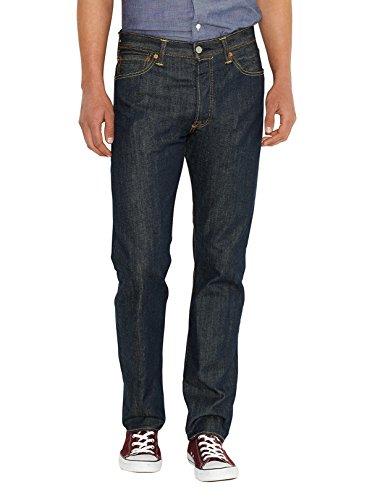 Levi's 501 original fit, jeans uomo, blu, 38w x 34l