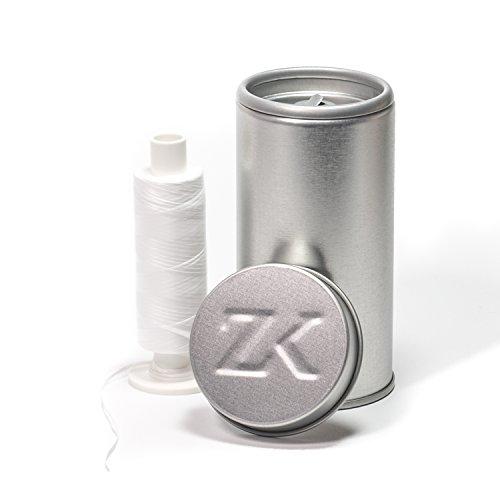 Zahnseidenkampagne Vegane PTFE Premium Zahnseide ungewachst (250m Spule + Spender)