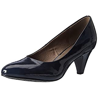 Tamaris Damen 22416 Pumps, Blau (Navy Patent), 39 EU