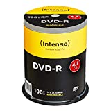 Intenso 4101156 DVD-R 16x 100 Pack Cakebox