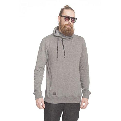 Ragwear Hooker Grey Melange Organic Vegan Streetwear Hoody Sweater Herren Mens grey melange