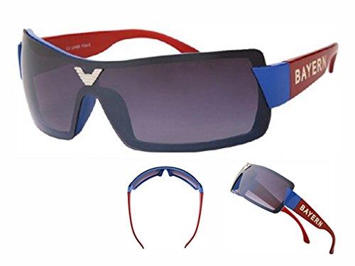Sonnenbrille Bayern Bikerbrille UV 400 Fan Sonnenbrille